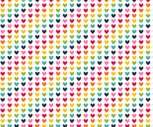 background, colorful, and heart image
