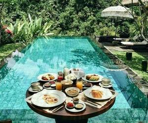 breakfast, food, and pool image