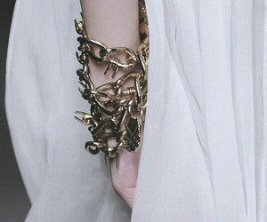 aesthetic, bracelet, and silver image