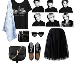 clothes, fashion, and kpop image