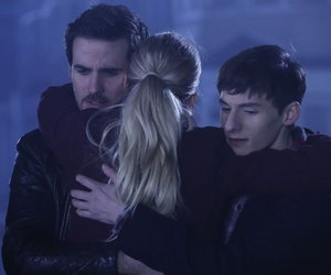 captain hook, once upon a time, and emma swan image