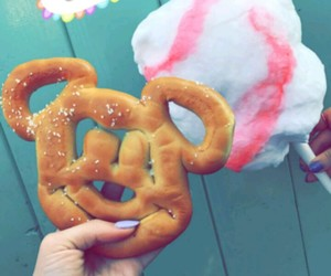 california, cotton candy, and disneyland image