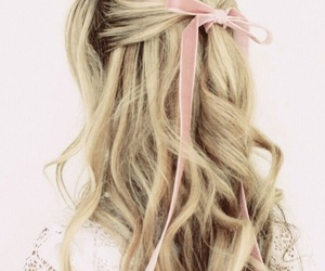 blonde, hairstyle, and lolita image