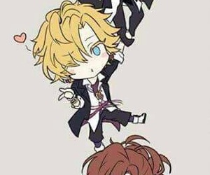 diabolik lovers, anime, and yuma mukami image