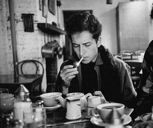 bob dylan and cigarette image