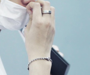 hands and baekhyun image