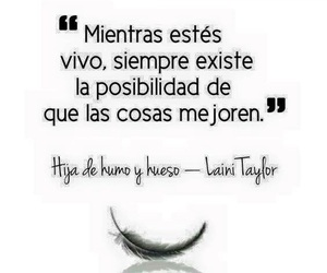 cosas, siempre, and laini taylor image