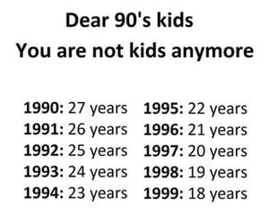 90s, childhood, and kids image