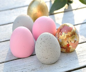 easter eggs and spring image