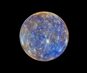 planet, mercury, and space image