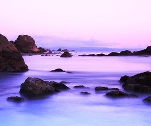 blue and purple image