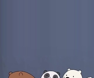 bear, iphone, and wallpaper image