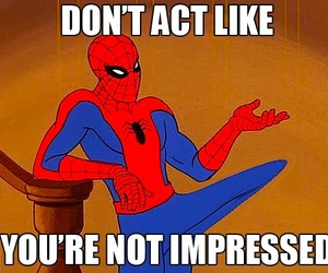 lmfao, xD, and spiderman meme image