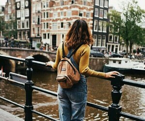 amsterdam, peace, and water image