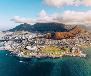 cape town, sea, and south africa image