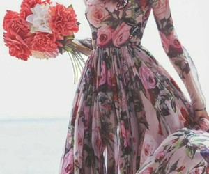 dress, spring, and love image