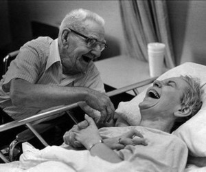 love, couple, and old image