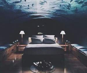 cool, ocean, and bedroom image