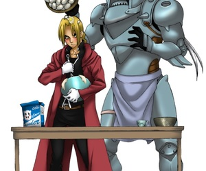 brothers, edward elric, and fullmetal alchemist image