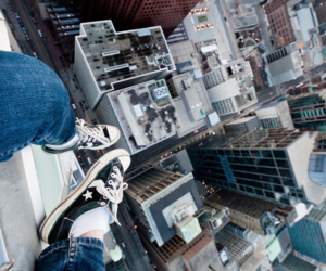 architecture, buildings, and feet image