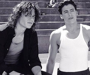 heath ledger, 10 things i hate about you, and boys image
