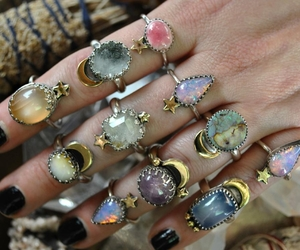 aesthetic and rings image