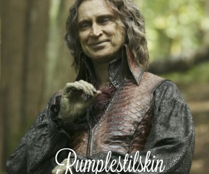 once upon a time, rumpelstilskin, and the dark one image