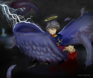angel, Angel of Death, and anime image