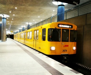berlin, germany, and metro image