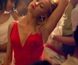 amber heard, hair, and red image