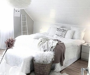 bed, decoration, and home image