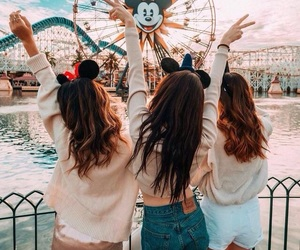 friends, disney, and travel image