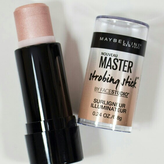 Maybelline and strobing stick image