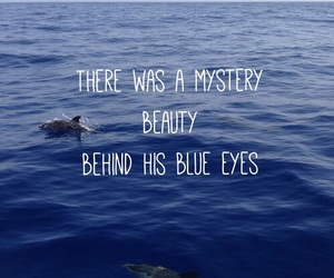 quote, blue, and eyes image