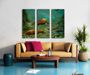 painting, seascape, and nature image