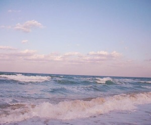 ocean, sea, and beach image