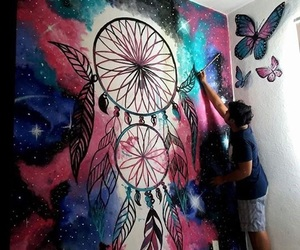 art and dreamcatcher image