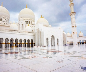 mosque, sheik, and zayed image