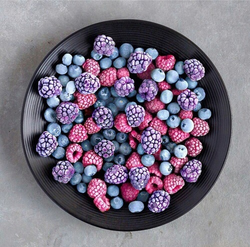 berries, food, and fruit image