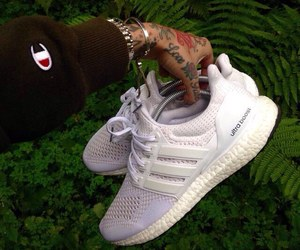 adidas, tattoo, and shoes image