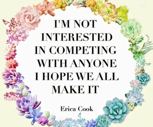 quote, life, and competition image