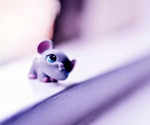 purple and cute image