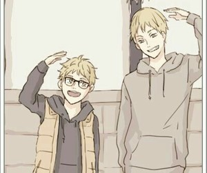 anime, brothers, and height image