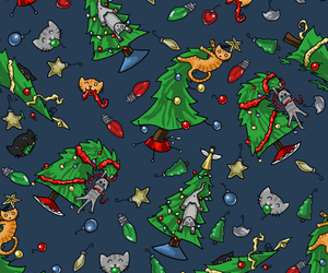 christmas and pattern image