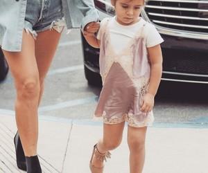 fashion, kid, and kardashian image