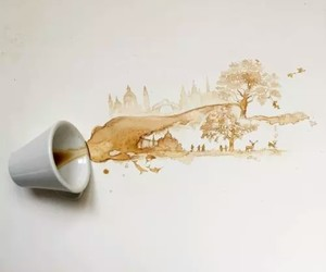 art and coffee image