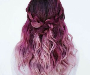 Hair Pink And Hairstyle Image