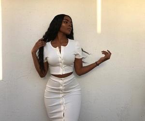 melanin and white image