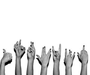 black, ladies, and fingers image