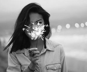 girl, inspiration, and light image